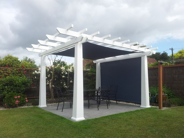 Mesh Shade Sail for privacy