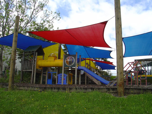 Colourful Shade Sails