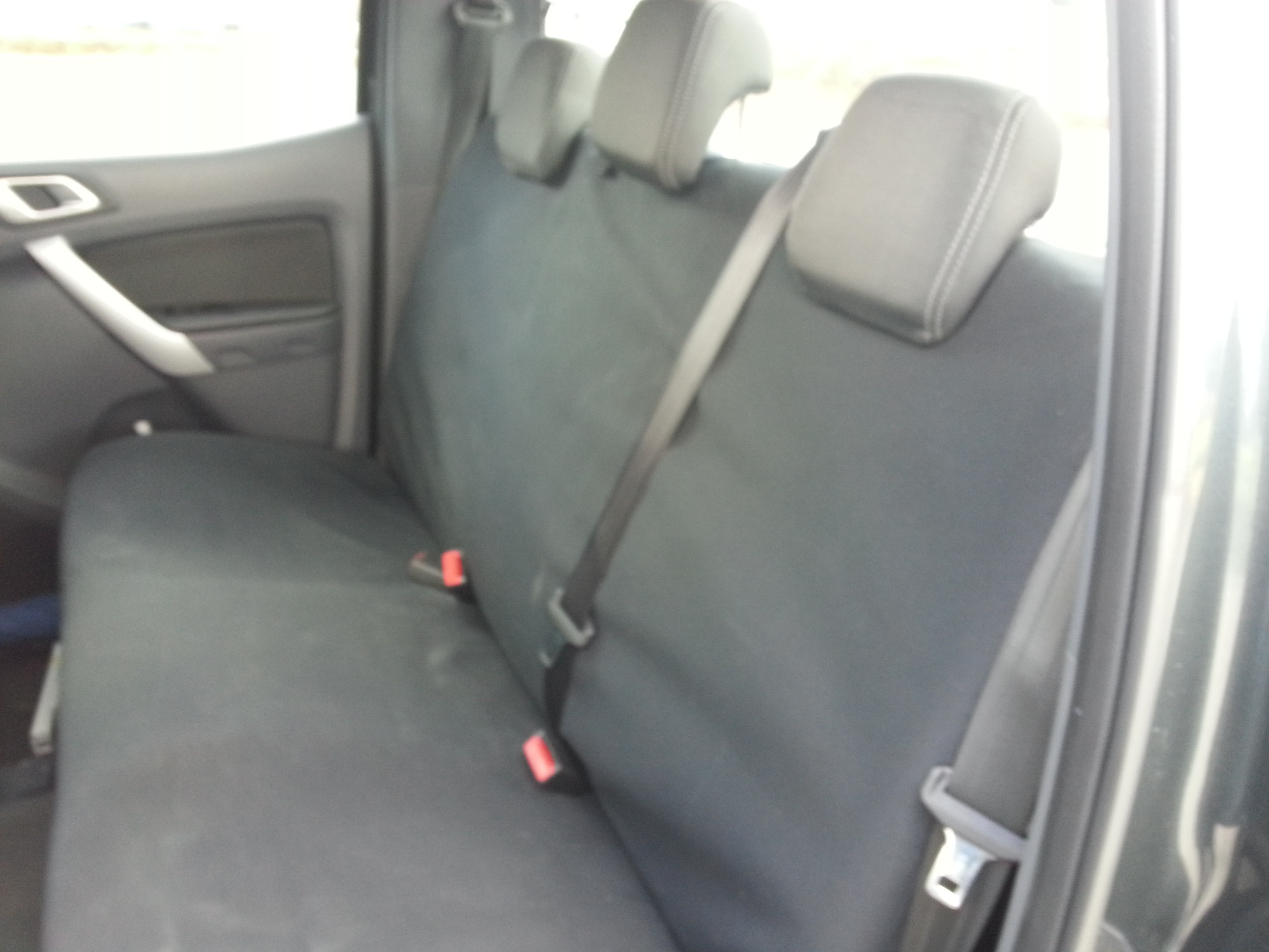 Ute rear seat cover