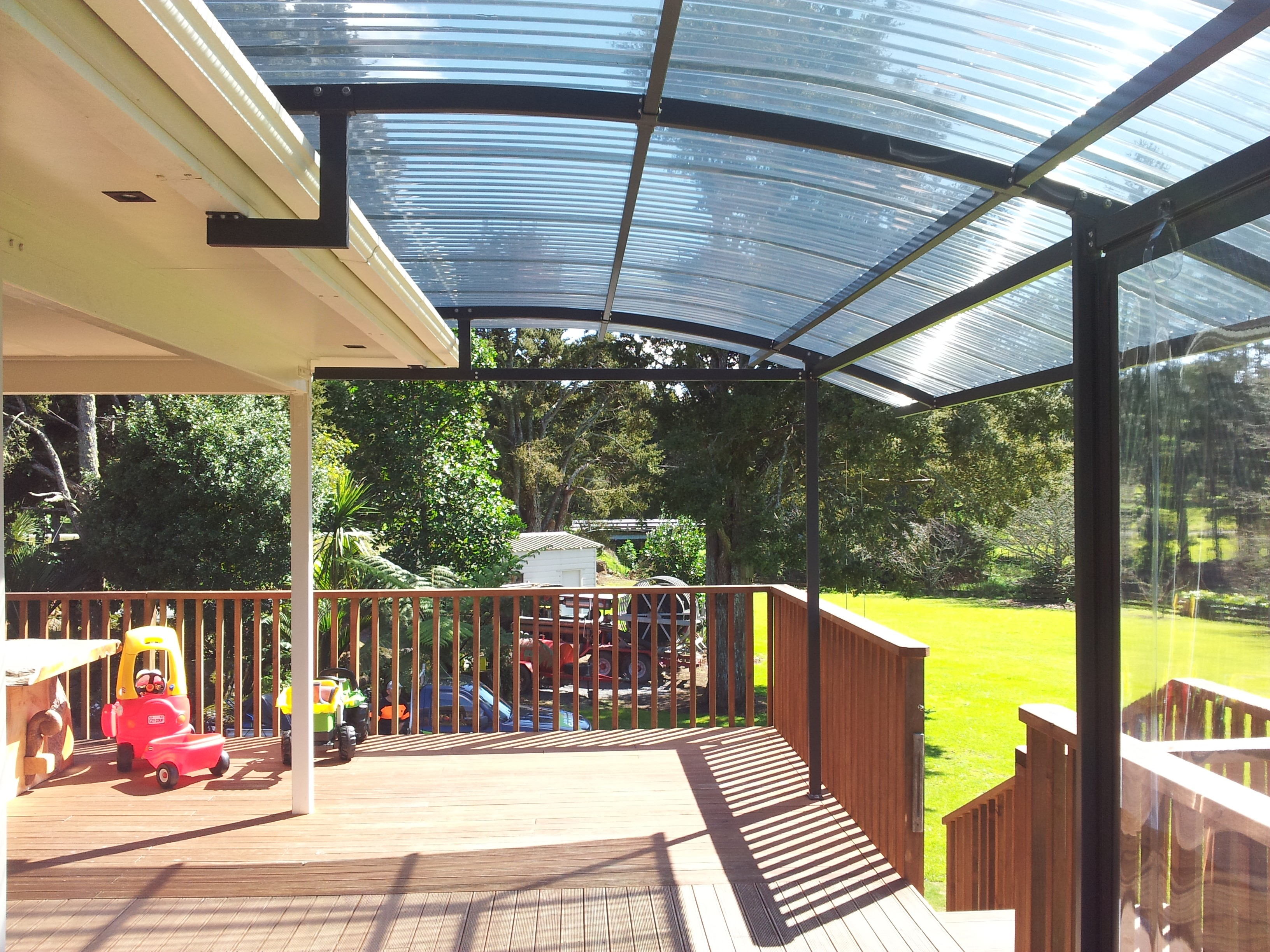 Polycarbonate Canopy