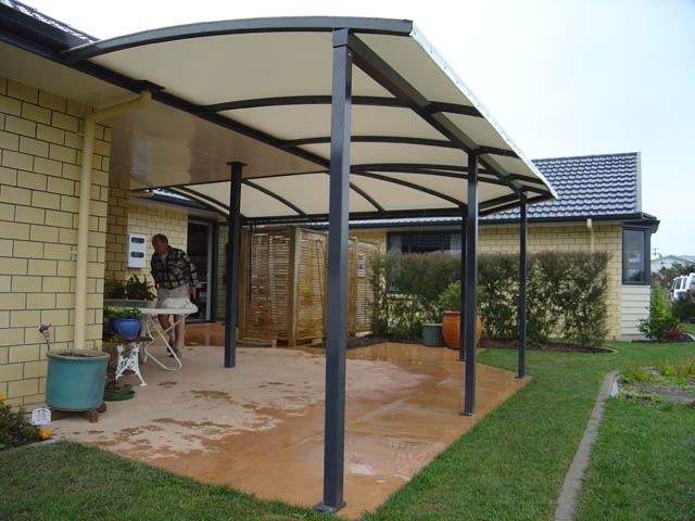 Outdoor Shade Canopy: Flexible, Portable, Affordable |Permanent Backyard Tents